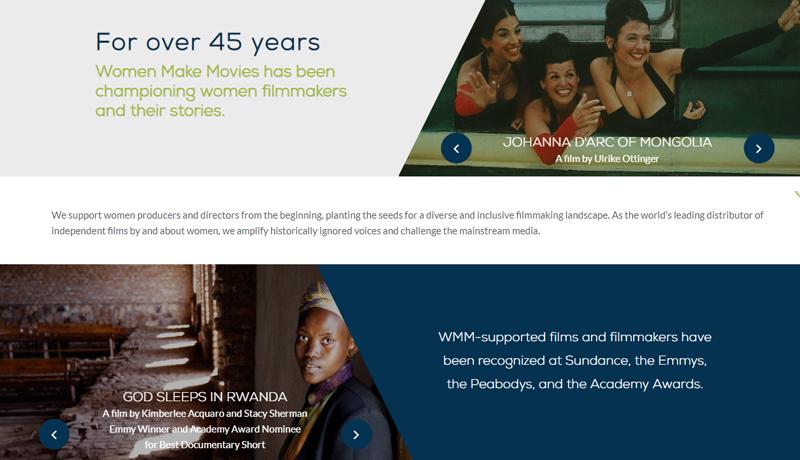 Home | Women Make Movies