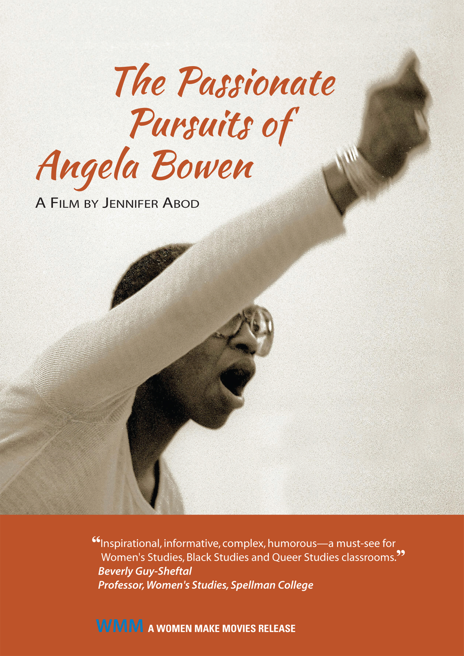 DVD The Passionate Pursuits of Angela Bowen